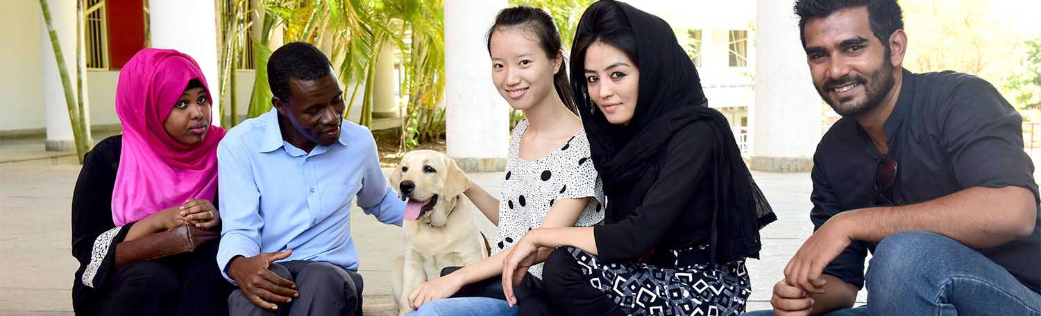 Innovative Pet Therapy for students at Symbiosis International University