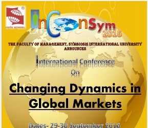 Inconsym 2016 - Changing Dynamics in Global Markets